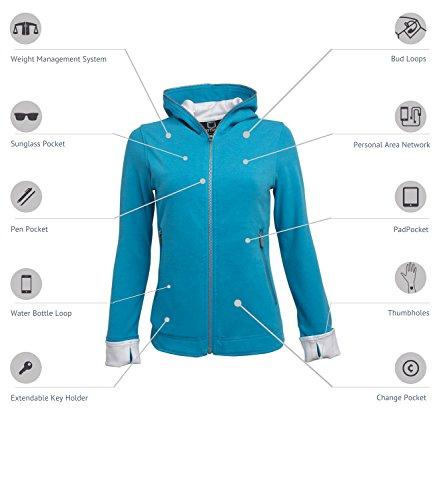 SCOTTeVEST Chloe Glow - 18 Pockets - Travel Clothing, Pickpocket Proof