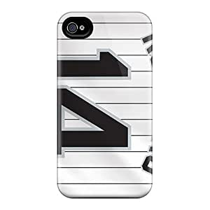 Anti-Scratch Hard Cell-phone Cases For Iphone 6plus With Support Your Personal Customized Beautiful Chicago White Sox Series JasonPelletier