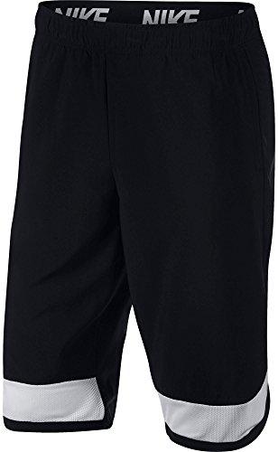 (Nike Men's Flex Shorts(Black/White/White, M))