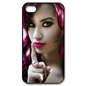 Customize Singer Demi Lovato Cellphone Case Fits for Apple iphone 4 4S JN4S-1837