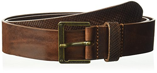 Diesel Men's B-mrhide Belt, tortoise shell, 105