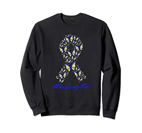 #The Lucky Few Butterfly Awareness Ribbon Sweatshirt