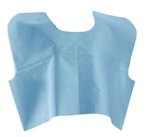 (Medline NON25249 Disposable Tissue / Poly / Tissue Exam Capes, 30