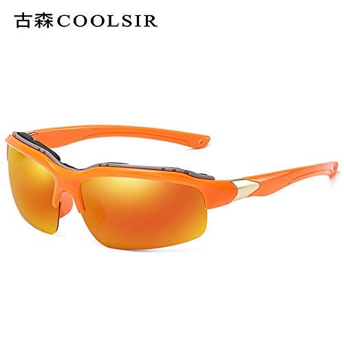 Coupe polarisées Miroir Lunettes frame Mjia Vent air Sport Alpinisme Miroir Orange de Sport pour sunglasses en Plein de Homme Lunettes Soleil Miroir nxxqg6az