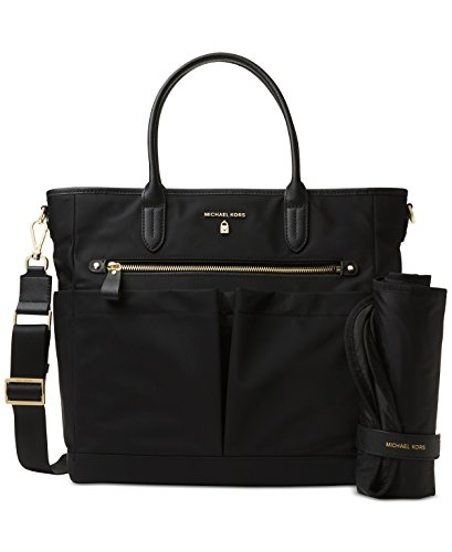 3f1a6a8e825706 MICHAEL Michael Kors Kelsey Large Diaper Bag (Black)