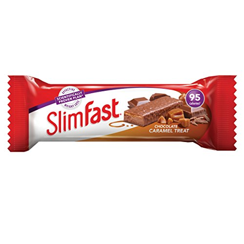 Slimfast Diet Snack Bar Chocolate Caramel Flavour G