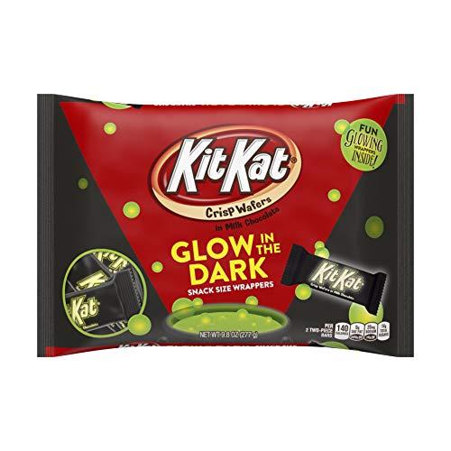Kit Kat Glow in the Dark Snack Size Candy Bars 9.8 oz Bag]()