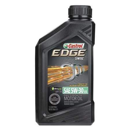 Castrol Engine Oil, 5W-30 SAE, Petroleum, 1 Qt.