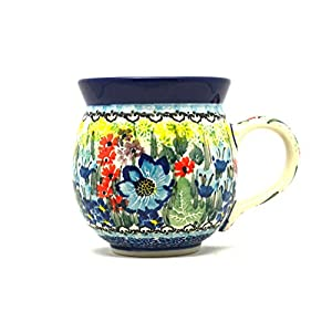 Polish Pottery Mug – 11 oz. Bubble – Unikat Signature U4558