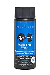 Rufus & Coco Water Free Wash Free Quick Grooming Powder