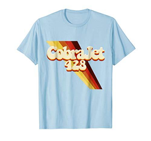 - Retro 1970's FE 428 Cobra Jet Muscle Car Graphic T-Shirt