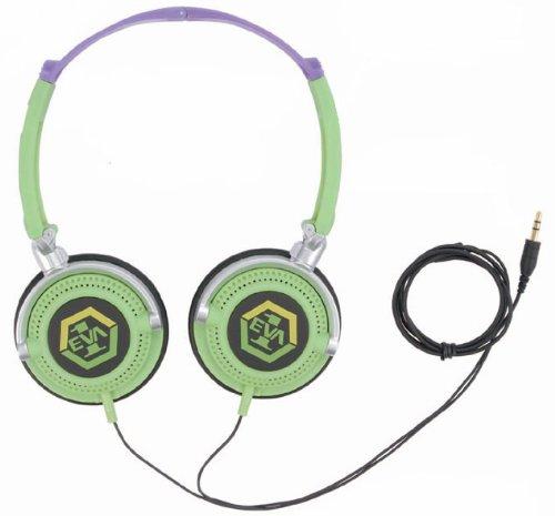 Evangelion Headphones EV-20B Unit 01 [JAPAN]