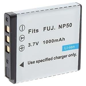 YL Batería de vídeo digital para reemplazar Fuji.NP50 FUJ.F200EXR F75EXR y Más (3,7 V, 1000 mAh)