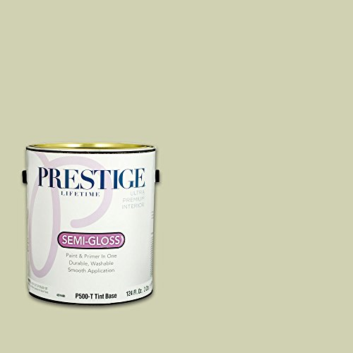 Prestige, Greens and Aquas 9 of 9, Interior Paint and Primer In One, 1-Gallon, Semi-Gloss, Soft Meadow