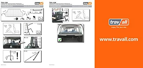Vehicle-Specific Dog Guard Travall Guard TDG1226