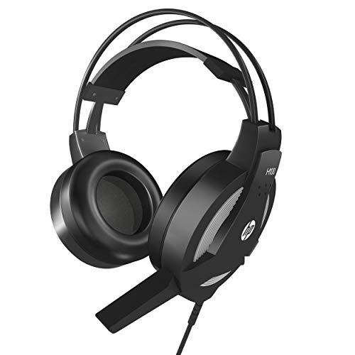 HP Wired Gaming PC Headset Stereo Sound HP H100 Headphone with Microphone for...