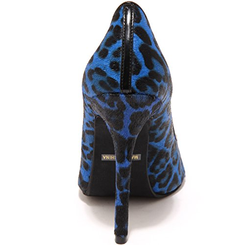Jeffrey Scarpe 6084H Campbell Women Donna Decollete Nero Blu Shoes Darling OqrOBAx