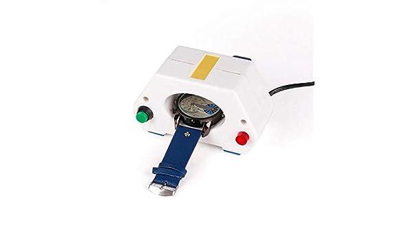 NOBGP Desmagnetizador de Relojes Profesional, Mecánico/Reloj de Cuarzo Desmagnetizador eléctrico Magnetizador de desmagnetización, Herramienta de reparación de relojero Duradero portátil: Amazon.es: Hogar