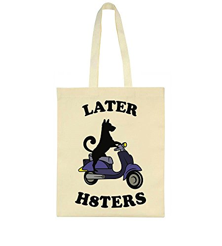 Later Riding Hilarious Hilarious Motoroller Later Bag A Tote Dog p6E7v