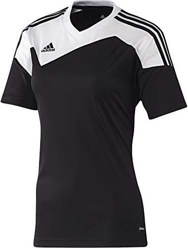 adidas Womens TOQUE 13 SOCCER JERSEY IN BLACK (MEDIUM)