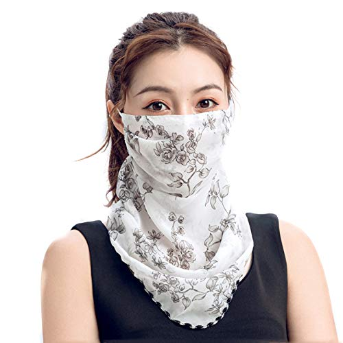 LADIES CHIFFON FACIAL BANDANA
