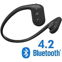 Tayogo Force Conduction Waterproof Bluetooth Headset mp3/FM that uses bone conduction (black)