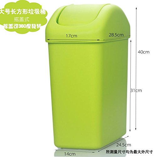 Dustbins Xiuxiutian The plastic cover bedroom health living room, and the style is 23 litter bins 1728.540cm