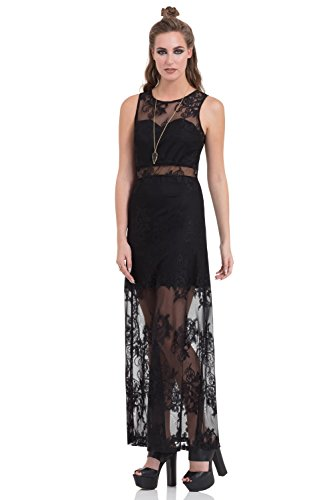 Pattern Dress Jawbreaker nero Abito Barock Nero 71npq5nA4w
