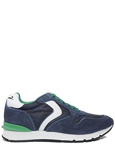 Voile Blanche Sneakers in Pelle e Nylon Liam Race
