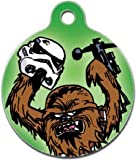 Platinum Pets Star Wars 1-Inch Smartphone Pet ID Tag with GPS, Chewbacca Design, My Pet Supplies