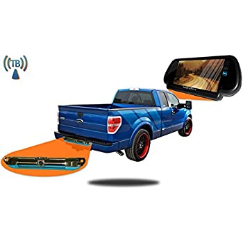 tadibrothers pickup truck backup camera system 7 inch mirror with wireless ccd. Black Bedroom Furniture Sets. Home Design Ideas