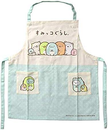 すみっコぐらし 日本製 綿100% エプロン 01520 k0276 サンエックス 女の子 子供用エプロン 綿 100% キッズ ジュニア