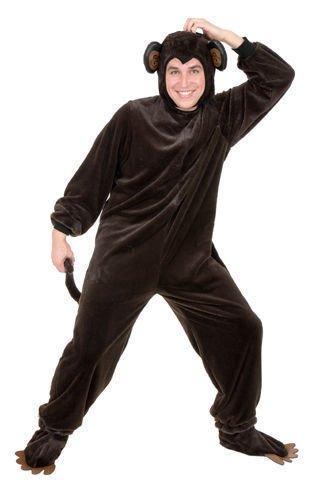 3x Mens Halloween Costumes (Plus Size Chimpanzee Mens 3X Animal Halloween Costume)