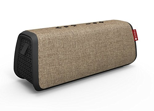 FUGOO Style XL- Portable Rugged Waterproof Wireless Bluetooth Speaker 35 Hrs Battery Life with Built in Speakerphone (Sand/Black) by Fugoo (Image #1)