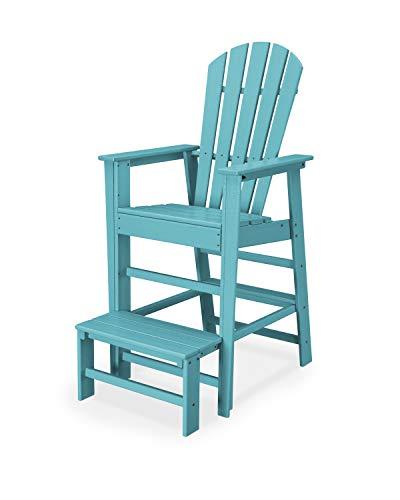 - POLYWOOD SBL30AR South Beach Lifeguard Chair, Aruba