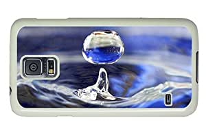 Hipster Samsung Galaxy S5 Case brand new Waterdrop PC White for Samsung S5