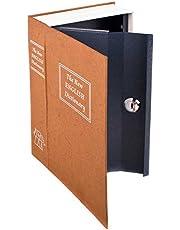 Buchtresor XXL Boekenkluis, kluis, boekenkluis, geldcassette als boekenkast, kluis voor thuis en op reis, voor waardevolle spullen, verstopplaats, geheime verborgen kluis in boeklook, met 2 sleutels