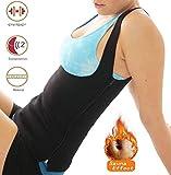 Waist Trimmer Slimming Sauna Tank Top Vest Shapewear (Small)