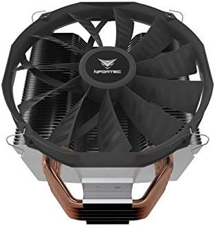 Nfortec Vela MX - Disipador CPU, Color Negro: Amazon.es: Informática