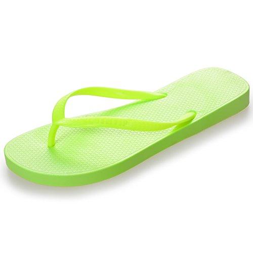 Femme Green Chaussons D'été Tongs Pour Piscine Pantuflas Chaussures De Sandales Homdsim Et Plage fO5qRR
