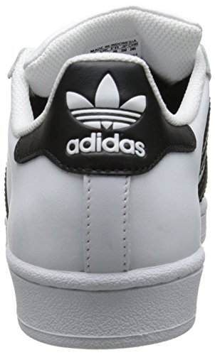 Black White Superstar Footwear Weiß Femme Core W Sneakers Basses adidas zwqCvO