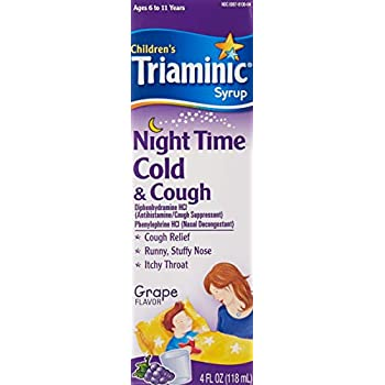 Amazoncom Triaminic Nighttime Coughcold 4 Oz Health Personal Care