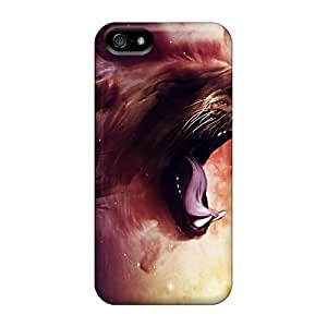 AlexandraWiebe Premium Protective Hard For SamSung Galaxy S5 Mini Phone Case Cover - Nice Design - Roaring Lion