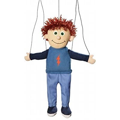 Tommy Peach Boy Marionette String Puppet: Toys & Games