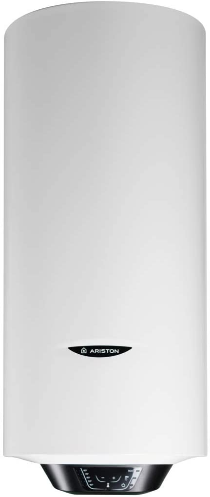Ariston Pro1 Eco Dry Multis Termo Electrico 100 litros | Calentador de Agua Vertical y Horizontal, Multiposicion, Resistencia Doble Envainada – Intelegente con Display de Leds