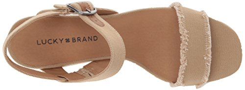Espadrille Brand Wedge Women's Sandal Marceline Travertine Lucky t7aqwfxa
