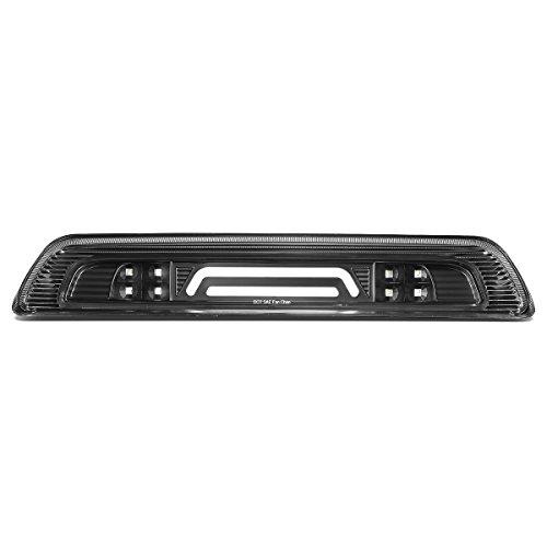 (DNA Motoring 3BL-TTU07-3D-LED-BK 3D LED Bar Third Brake/Cargo Light Black/Clear [for 07-18)