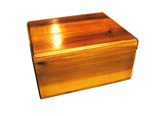 Cedar Keepsake Memory and Treasure Chest with French Rubbed Finish - Size 17 x 14 x 8 Inches