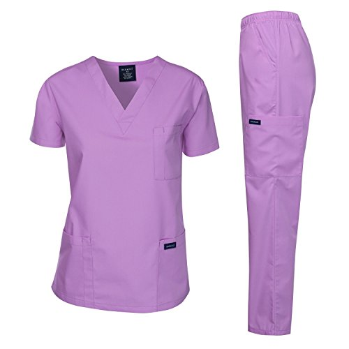 Dagacci Medical Uniform Unisex LAVENDER
