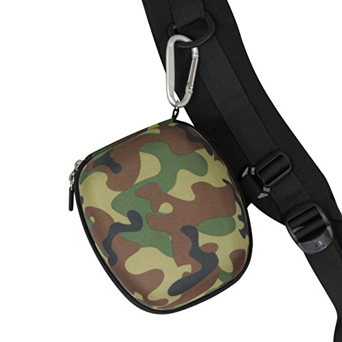Hermitshell EVA Hard Protective Travel Case Carrying Bag for Howard Leight by Honeywell Impact Sport Sound Amplification Electronic Earmuff by Hermitshell (Image #4)